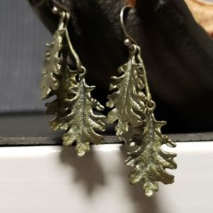 Michael Michaud Jewelry - Silver Seasons Michael Michaud kale earrings